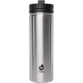 MIZU M9 Bidon with Straw Lid 900ml srebrny